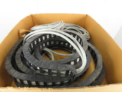 "Igus 200.05.125 2-1/4"" x 1"" Energy Drag Chain Cable Carrier 30' With 100'+ Cable"
