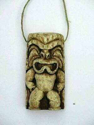 Brady Bunch Cursed Tiki Idol Necklace Greg Peter Bobby TV Prop 70's Hawaii NEW