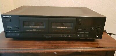 SONY TC-WE405 Dual Kassettendeck HiFi Stereo High End Double Cassette Tape Deck