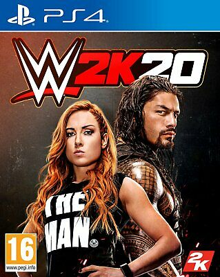 WWE 2K20 Sony Playstation PS4 Game
