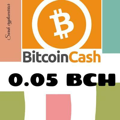 0.05 Bitcoin-Cash ABC (BCH) Mining-Contract (0.05 BCH), Crypto Currency