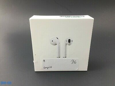 Apple 2nd Generation AirPods with Wireless Charging Case White MRXJ2AM/A