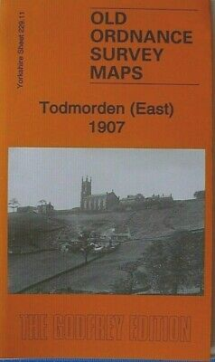 Old Ordnance Survey Maps Todmorden East Yorkshire 1907 Godfrey Edition New Map