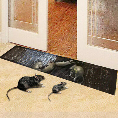 3/5PCS 4FT Mice Mouse Rodent Glue Traps Sticky Board Rat Snake Bugs Household