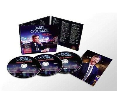 DANIEL O'DONNELL - SIGNED - HALFWAY TO PARADISE. 3x CD. NEW. SEALED.AUTOGRAPHED.