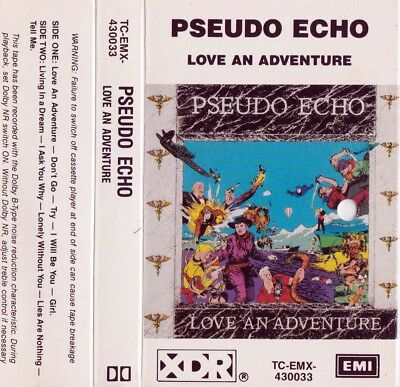 PSEUDO ECHO Love An Adventure - Cassette - Tape   SirH70