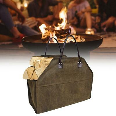 Portable Firewood Carriers Holders Log Tote Bag Carrier Fireplace Firewood Totes