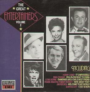 GREAT ENTERTAINERS VOLUME 2 Various CD 20 Track Compilation Including Tracks B