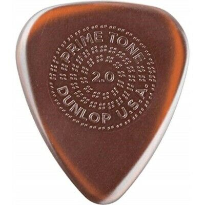 Dunlop Guitar Picks 3 Pack Primetone Standard Raised Grip Hand Sculpted  2.5mm