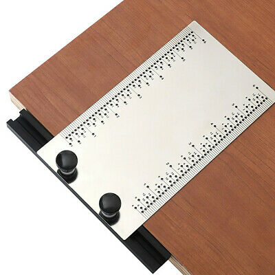 Inch Stainless Steel With Base Multi-function Woodworking Dash Ruler Ruled Line