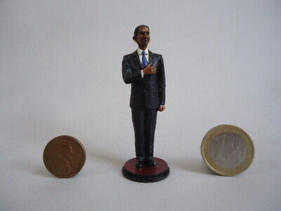 = 54mm scale First Black US President OBAMA Figure (HAND PAINTED FIGURE) =