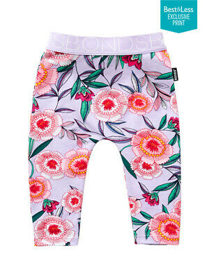 NEW BONDS Cotton / Elastane Baby Bonds Stretchies Leggings by Best&Less