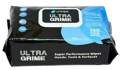 Ultragrime Large Industrial Cleaning Wipes, 100 Pack - UNIWIPE
