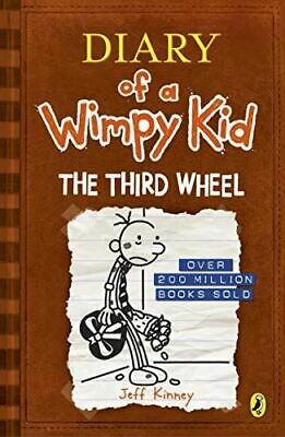 Diary of a Wimpy Kid: The Third Wheel (Book 7), Kinney, Jeff, Very Good, Paperba