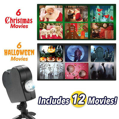 Star Shower Window Wonderland Christmas Halloween Movie Projector Light New