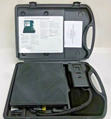 NEW!! Refrigerant Charging or Recovery Scale, 200 Max. Capacity (Lb.), 5PWF9