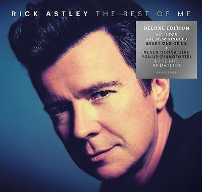 RICK ASTLEY THE BEST OF ME 2-CD DELUXE (Greatest Hits) (Released October 25th)