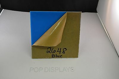 """POPDISPLAYS  COLOR SAMPLE   OF COLOR #2447 WHITE   1//8/"""" x 1.5./"""" x 1.5/"""""""