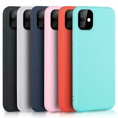Coque iPhone 11 iPhone 11 Pro MAX iPhone SE 2020 X XR XS MAX 7 8 en Silicone Mat