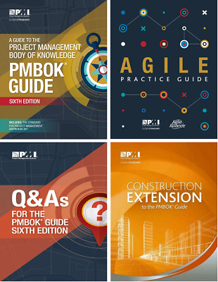 PMBOK Guide 6th + Agile + Extension + Q&As + Formulae + Personalized Notes etc