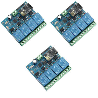 ESP8266 WIFI 4-Channel Relay Module 12V IoT Wireless Transmitter For Smart Home