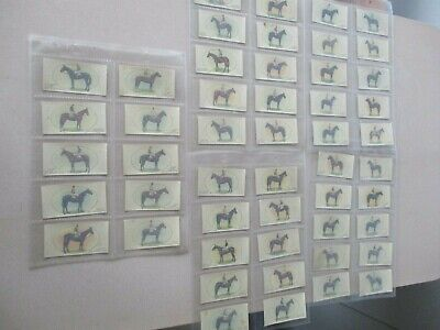 John Player & Sons Derby & Grand National Winners Transfers 1933 Complete Set 50