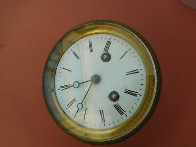 Antique Clock Movement and Face