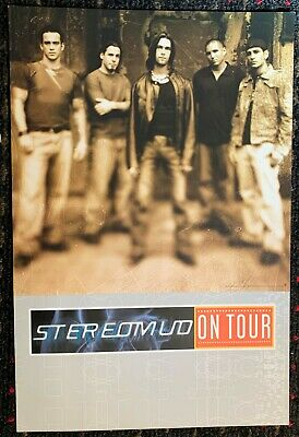 STEREOMUD Every Given Moment promo poster flat12x18 2sided NU-METAL Pro-Pain LOA