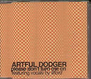 ARTFUL DODGER (R&B GROUP) Please Don't Turn Me On CD 4 Track Limited Edition E