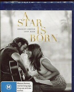 A Star Is Born (Blu-ray, 2019)  -  Lady Gaga, Bradley Cooper - Blu-ray