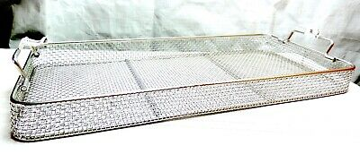 Stainless Steel Sterilization Tray Basket Arthroscopy Endoscopy Instrument