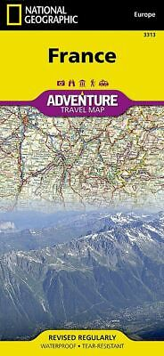 National Geographic France / Corsica Island Europe Adventure Travel Map 3313