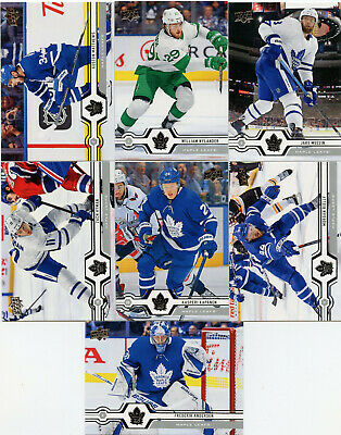 19/20 Upper Deck Series 1 Team Sets #1-200