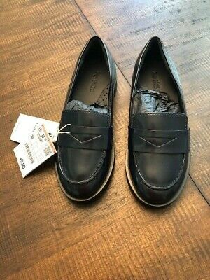 New Zara girls loafer  Shoes navy blue size 30