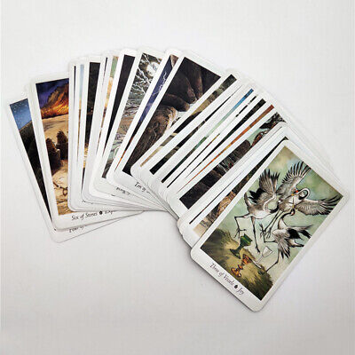 78pcs Tarot Cards Deck English Mysterious Animal Playing Board Game Party NEW US