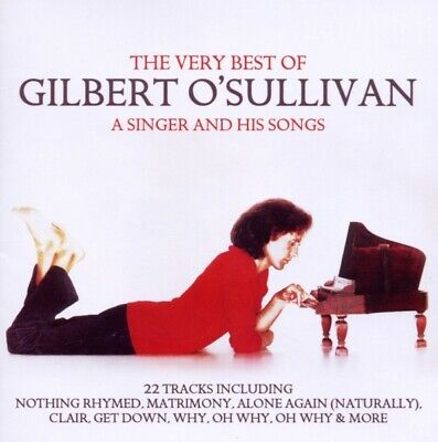Gilbert OSullivan - Very Best Of-A Singer And His Songs CD Union Square Mus NEW