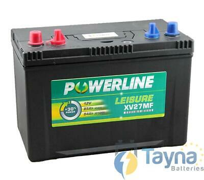 XV27MF Powerline Batterie Camping Bateau 12V