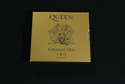 Queen Greatest Hits I & II Two CD SET Fat Box