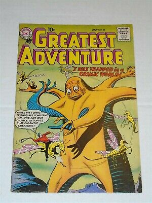 My Greatest Adventure #33 Fn (6.0) Dc Comics July 1959**