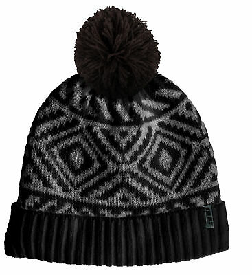 509 Grid Fleece Beanie - Black