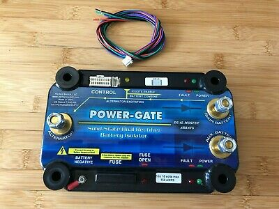 POWER-GATE Dual Rectifier Battery Isolator