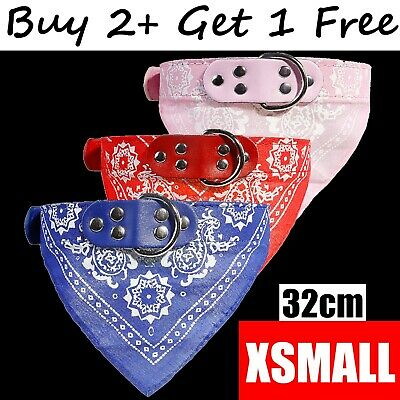 Dog Neck Neckerchief Bandana Christmas Collar Adjustable Pet Cat Puppy Scarf XS