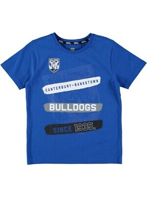 NEW BULLDOGS Nrl Youth Tshirt by Best&Less