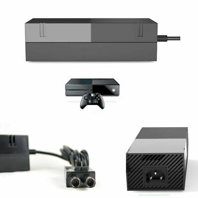 Brick Power Supply For XBOX ONE Console UK Mains Plug Charger Cable Adapter New