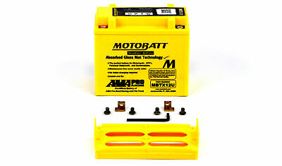 Bonneville 900cc 06-07 Motobatt Battery For Triumph Scrambler