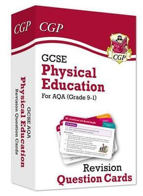 New Grade 9-1 GCSE Physical Education AQA Revision Question Cards by CGP Book...