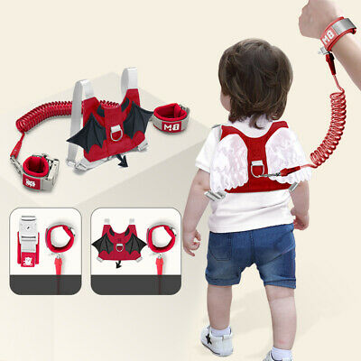 Baby Kids Toddler Walking Harness Safety Reins Adjustable Travel Lead Anti-lost
