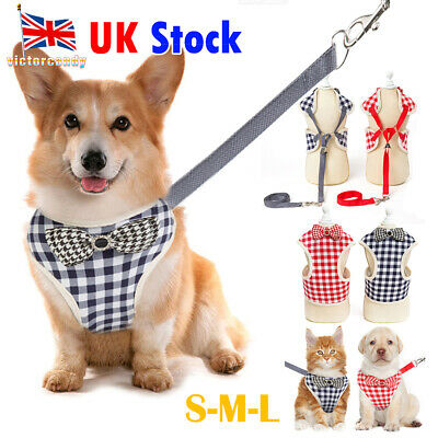 Fashion Adjustable Dog Harness Puppy Pet Dog Vest Car Running Small Medium Large