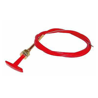 FSE T-Handle Pull Stop Cable – 3.7 Metre