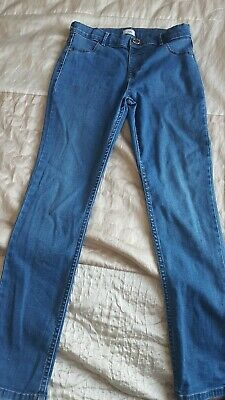 River Island Skinny Jeans Girls Age 9 Years Vgc